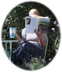 Jayne Davis researching historical romance