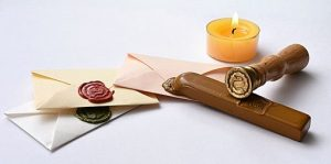 sealing wax for writing letters