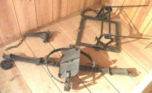 Man-trap, spring gun and a humane man-trap