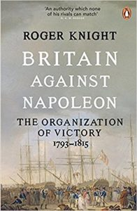 Book cover for Britain Against Napoleon