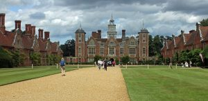 The approach to Blickling Hall