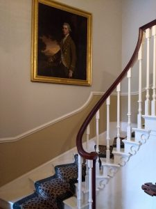 The start of the main staircase.