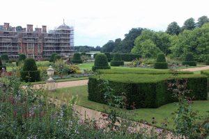 A veiw of the gardens.