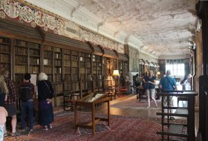 The library at Blickling Hall.