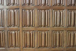 Linenfold panelling